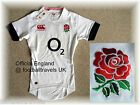 ENGLAND RUGBY TEST SHIRT CANTERBURY jersey TIGHTFIT players NEW HOME 2014 Tags