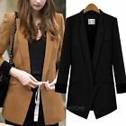 Autumn Korean Slim Casual OL Women Female Lady Suits Blazer Outerwear Coat Tops