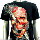 RC Survivor T-Shirt M L XL XXL XXXL Skull Dragon Evil Biker Tattoo Rock mma WB16