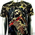Survivor T-Shirt M L XL XXL 3XL Skull Guitar STUD Biker Rock Heavy Metal S58 D2