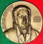 MUSIC GENIUS / MARCOS OF PORTUGAL LARGE BRONZE MEDAL BY H.J.MENDES