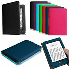 Premium Leather Case Smart Cover for Amazon Kindle (7th Generation 2014 Model)