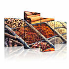 FOOD&DRINK Powders 12 4A-LH Canvas Framed Printed Wall Art ~ More Size