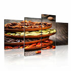 FOOD&DRINK Powders 16 4A-RH Canvas Framed Printed Wall Art ~ More Size