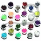 STARGAZER LOOSE FINE GLITTER SHAKER FOR FACE BODY HAIR NAILS ALL COLOURS