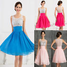 Quinceaera A Line Prom Party Ball Gown Formal Wedding Evening Cocktail Dress NEW