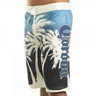 Corona Extra Boardshorts Mens Palms Swim Trunks Shorts Board Licensed New