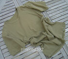 UK BRITISH ARMY SURPLUS ISSUE GREEN CREW NECK 100% COTTON T-SHIRT SHORT SLEEVE