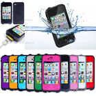 Waterproof Shockproof Dirt Dust Proof PC Hard Cover Case For iPhone 4 4S 4G