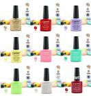 New Gel Polish Shecllac Soak off Fashion Colour LED Glitter Decoration 7.3ml #E