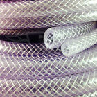 "22.0mm (7/8"") CLEAR PVC BRAIDED HOSE,FOOD GRADE OIL WATER GASES, REINFORCED TUBE"