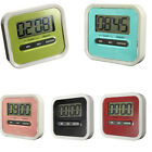 Magnetic Mini LCD Digital Count Up Down Home Kitchen Cooking Warning Timer Alarm