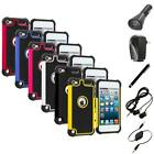 For iPod Touch 5th Generation 5G Hybrid Shockproof Hard Case Cover+Accessories