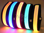 Night Cycling Flashing Illuminated LED Safety Armband Reflective High Visibility