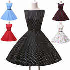 ❤XMAS DISCOUNT❤ Vintage Retro Land girl 40's/50's Floral Pinup Swing Party Dress