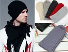 Fashion Unisex Hip-Hop Warm Winter Wool Knit Ski Beanie Skull Cap Hat Punk Style