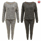 WOMENS LADIES FULL TRACKSUIT SWEATSHIRT TOP JOGGING BOTTOMS SET SPORT GYM SUIT