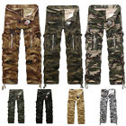 Herrenmode Casual Trousers Military Combat Army CAMO Cargo Pants Hose