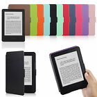 TEXTURED THIN PU LEATHER CASE COVER FOR NEW KINDLE WITH TOUCH (7th Gen. 2014)