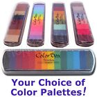 COLORBOX Paintbox PIGMENT inkpad set multicolor removeable rainbow ink stamp pad