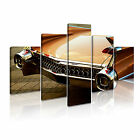 TRANSPORT Vehicle Car 1 Canvas 5 Framed Printed Wall Art ~ 5 Panels