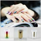 Women's Fashion Nail Art Transfer Foil Nail Sticker Tip Decoration Easy Nail DIY