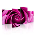 FLOWER Rose 20 Canvas 4A-RH Framed Printed Wall Art ~ 4 Panels