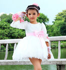 Princess Flower Girls Wedding Birthday Bridesmaids Skirts Dress 003