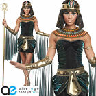 EGYPTIAN GODDESS COSTUME SEXY CLEOPATRA FANCY DRESS  ADULT LADIES OUFIT