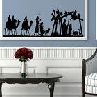 LARGE CHRISTMAS XMAS DECORATION NATIVITY SCENE MANGER WALL STICKER VINYL DECAL
