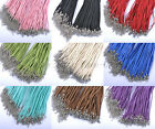 Wholesale Lots KOREA SOFT VELVET CORD Adjustable Charms NECKLACES 18-19.5 inches
