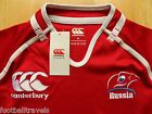 M L XL XXL 3XL 4XL RUSSIA PRO RUGBY SHIRT jersey Canterbury of NZ Home ORIG PACK