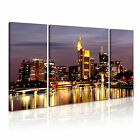 Germany 2 Europe Cityscape 3B Framed Print Canvas Wall Art~ 3 Panels