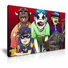 The Gorillaz Music Band DJ Wall Art Canvas Print Framed Box ~ Many Size