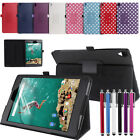 New Leather Smart Cover Case Stand for Google Nexus 9 Tablet 8.9 Inch