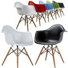 RETRO DAW CHAIR BAR STOOL DINING LOUNGE KITCHEN HOME MODERN STYLE HARD PLASTIC