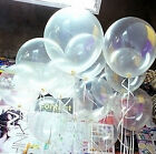 Wholesale 10/20/100 Transparent Latex Balloons Birthday Wedding Party Decor 10""