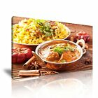 INDIAN FOOD Curry Biryani Dish Canvas Restaurant Deco~ More Size