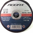 STAINLESS STEEL ANGLE GRINDER CUTTING DISCS - ULTRA THIN 1mm - FCMT125222