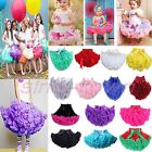 Girl Princess Pleated Fluffy Pettiskirt Skirt Petti Party Dance Tutu Dress 0-10Y