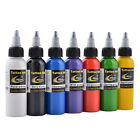 Top Pigment Tattoo Ink Supply 2OZ 60ml/bottle for Body Tattoo Art 7 Color U-pick