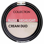 Collection Blush & Highlight Cream Duo Blusher Highlighter ~ Pick A Shade ~ New