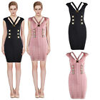 Women's Bandage Bodycon Dress Evening Cocktail Party Prom Dress 642# XS S M L