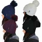 Womens Beanie ProClimate New Ladies Waterproof & Windproof Thinsulate Bobble Hat