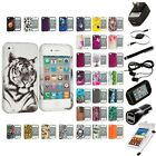 For Apple iPhone 4 4S Hard Design Case Cover Accessory 7X Accessories