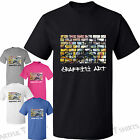 Graffiti Wall,Street Art, Banksy Unique style T-Shirt Brand Mens,Womens Tshirts