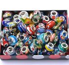 MILLEFIORI LAMPWORK Murano Glass BEADS For Snake Charms Fit Bracelets Jewelry