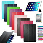 Slim Magnetic Leather Smart Cover For Apple iPad Air Hard Back Case Sleep/Wake