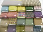MORE Rustic Woven Homespun 100% cotton fabric plaids & checks earthy & brights
