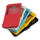 Flip PU Leather Case Cover Smart Protector Skin For SAMSUNG GALAXY S5 G900 Color